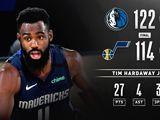 NBA-独行侠22分逆转爵士