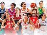 奥运女篮:中国VS澳大利亚